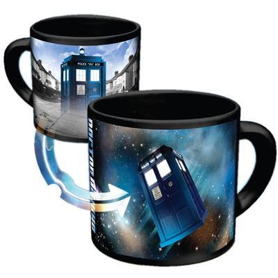 Click to get Doctor Who HeatActivated Disappearing Tardis Mug
