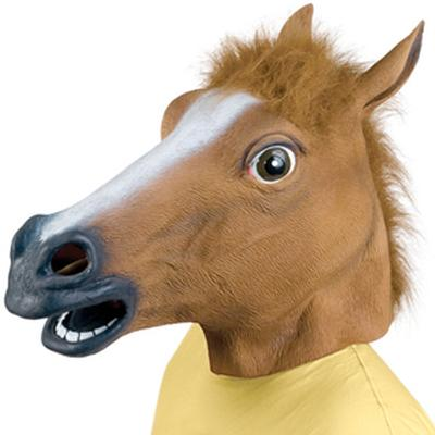 Click to get Horse Head Mask