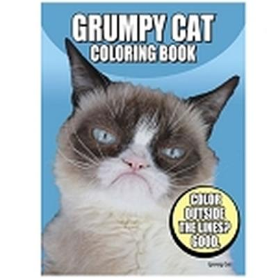 Click to get Grumpy Cat Coloring Book