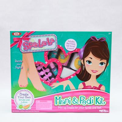 Click to get Spa La La Kit Mani Pedi
