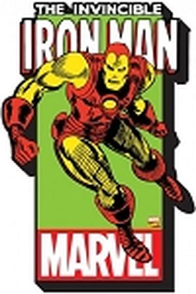 Click to get Marvel  Iron Man w Logo Funky Chunky Magnet