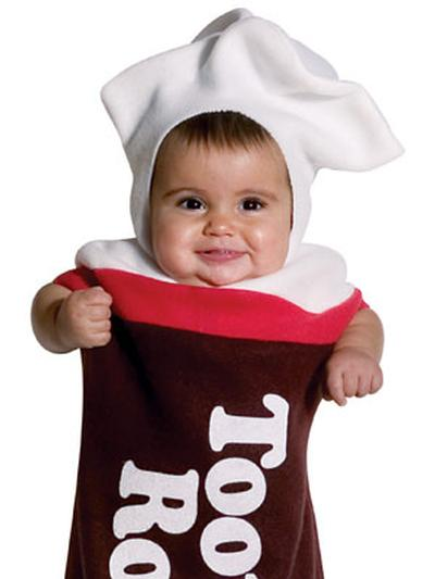 Click to get Tootsie Roll Baby Costume