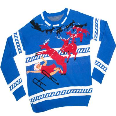 Click to get Knit Ugly Holiday Sweater Grandma Got Run Over By A Reindeer