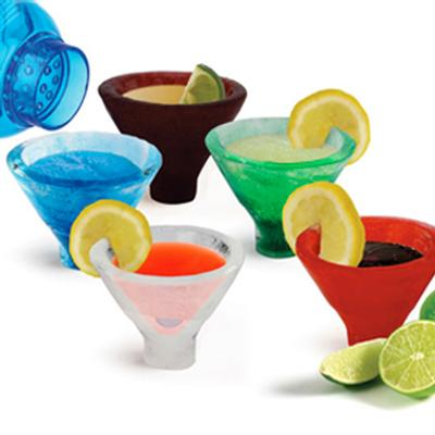 Click to get Ice Martini Glasses Kit