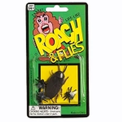 Click to get Fake Roach and Flies