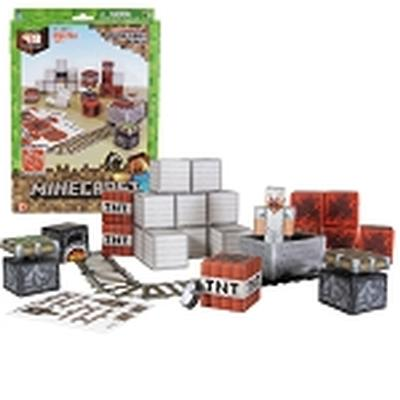 Click to get Minecraft Paper Craft Minecart Set