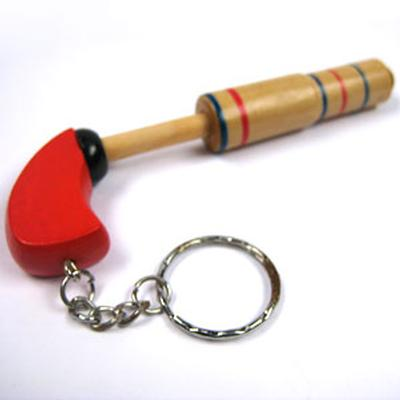 Click to get Wood Pop Gun Keychain