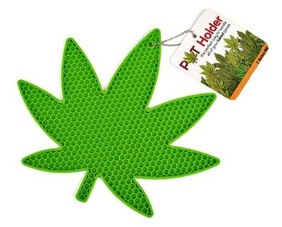 Click to get Pot Leaf Pot Holder