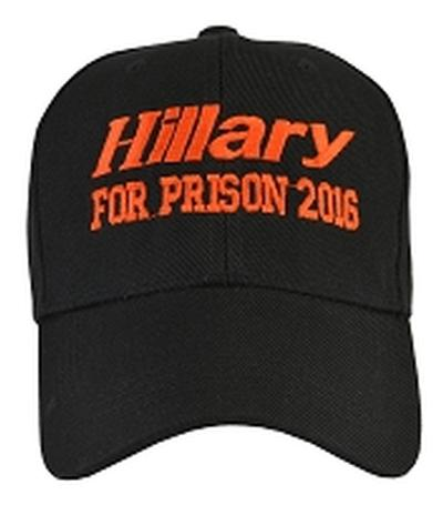 Click to get Hillary for Prison Hat