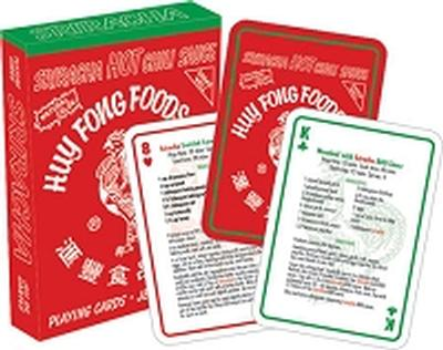 Click to get Siriracha Recipes Playing Cards