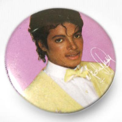 Click to get Michael Jackson Button