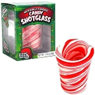 Click to get Candy Cane Shot Glass