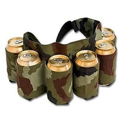 Click to get Beer Belt 6Pack  Camouflage
