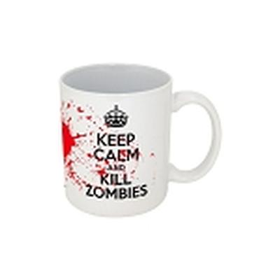 Click to get Keep Calm Kill Zombies Mug