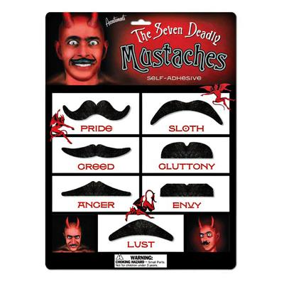 Click to get Seven Deadly Mustaches