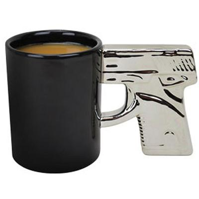 Click to get The Gun Mug  Chrome Handle