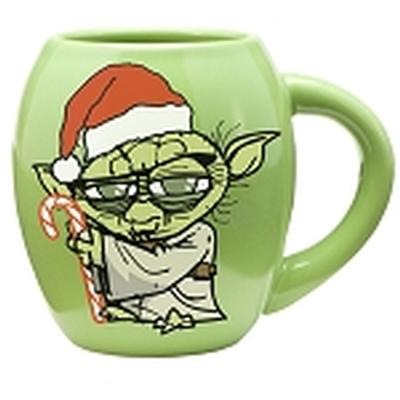 Click to get Star Wars Yoda Holidays 18oz Oval Mug