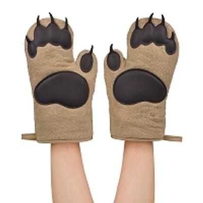 Click to get Bear Hands Cotton Oven Mitts