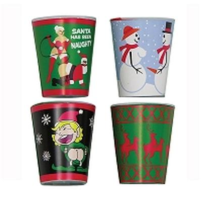Click to get X Rated Christmas Shot Glasses