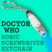 Doctor Who Sonic Screwdriver of the 11th Doctor Keychain